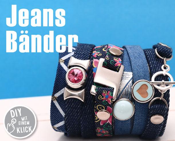 Jeansband für Schmuck