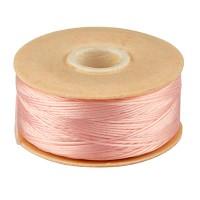 Beadalon Nymo Faden D, Durchmesser 0,30 mm, rosa, Länge 59 Meter