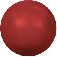 Swarovski Crystal Pearl, rund, 8 mm, red coral