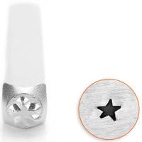 ImpressArt Design Stempel, 3 mm, Motiv Stern