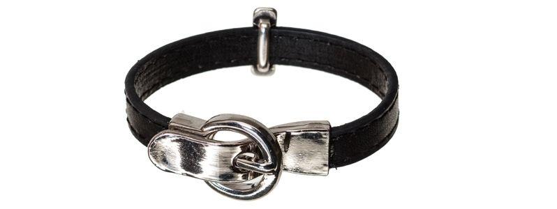 Lederlook Armband Kreuz