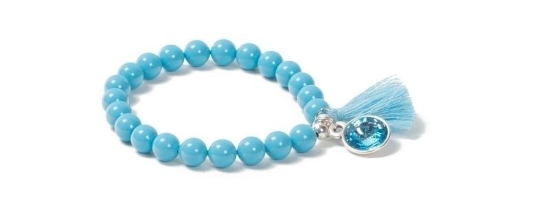 Armband Türkisblau