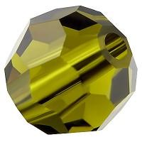 Preciosa Round Bead/Kugel, 6 mm, olivine