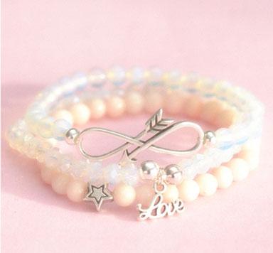 DIY-Anleitung für die Armbänder Pretty in Pink