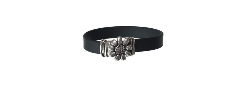 Armband mit Hakenverschluss Blume