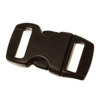 Klick-Verschluss, 29 x 15 mm, schwarz