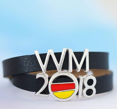 Fußballschmuck für die WM 2018