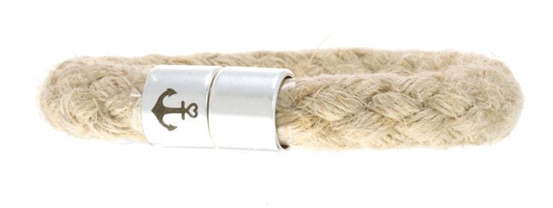 Segeltau Armband Magnetverschluss mit Anker