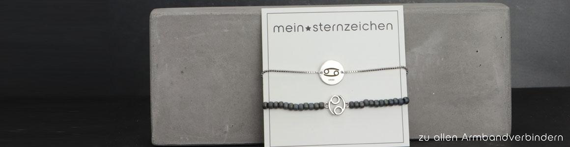 Sternzeichen Armbandverbinder & Coins
