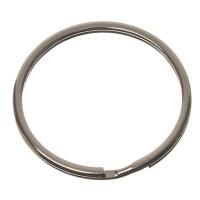 Schlüsselring, Durchmesser 35 mm, silberfarben