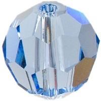 Swarovski Elements, rund, 8 mm, light sapphire