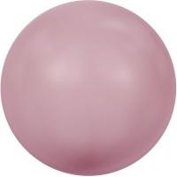 Swarovski Crystal Pearl, rund, 4 mm, powder rose