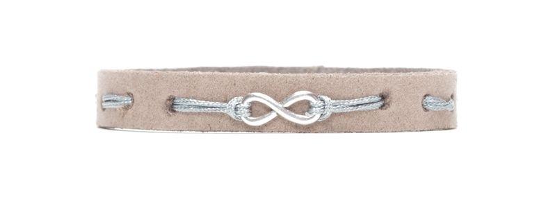 Craft Lederarmband Infinity