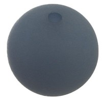 Polarisperle, rund, ca. 20 mm, petrol