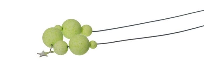 Stylische Kugelkette Hellgrün