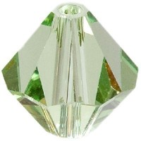 Swarovski Elements Bicone, 8 mm, peridot