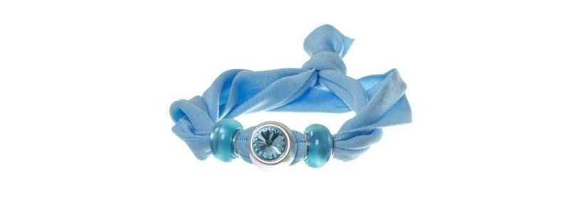 Lycra-Armband Aquamarine 1
