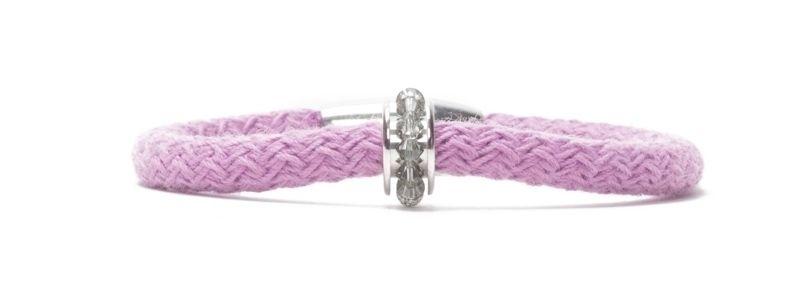 Armband RoyaL Lilac mit Segelseil