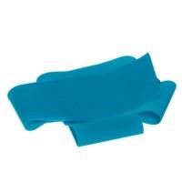 Lycra-Band, Breite 30 mm, Länge 1 m, dehnbar, türkisblau