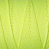 Schmuckband, Durchmesser 1 mm, neon gelb, Länge 1 m