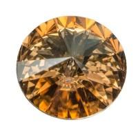 Swarovski Rivoli (1122), 12 mm, crystal golden shadow