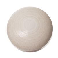 Polaris Ceramica Cabochon, rund, 12 mm, dunkelgrau