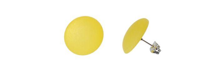 Ohrstecker Gelb klein