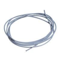 Lederband, 1 bis 1,5 mm, Länge 1 m, grau