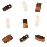 Miyuki Tila Bead Mix 5 mm, Pebbles, assorted sizes, Röhrchen mit ca. 7,2 gr