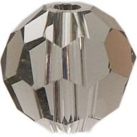 Swarovski Elements, rund, 8 mm, black diamond