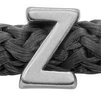 Grip-It Slider Buchstabe Z, für Bänder bis 5mm Durchmesser, versilbert