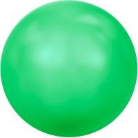 Swarovski Crystal Pearl, rund, 6 mm, neon green