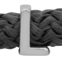 Grip-It Slider Buchstabe L, für Bänder bis 5mm Durchmesser, versilbert
