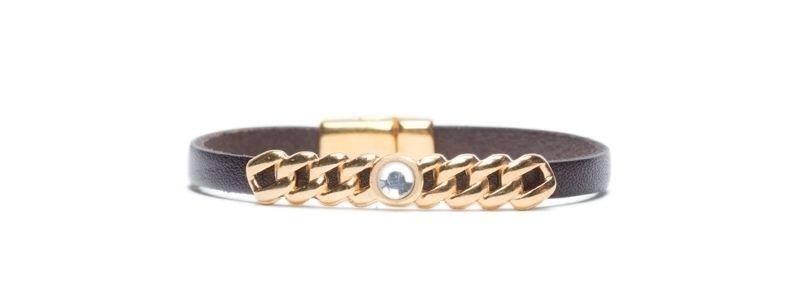 Armband  mit Mini-Sliderperlen Facettstein