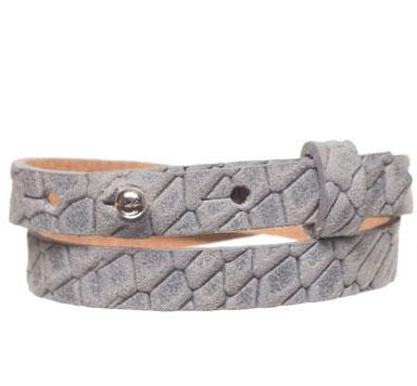 Animalprint Lederarmbänder für Slider ( 10 mm)
