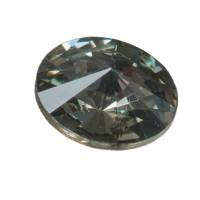 Swarovski Rivoli (1122), SS39 (ca. 8 mm), black diamond