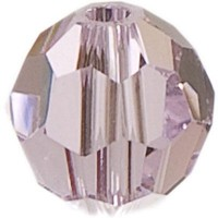 Swarovski Elements, rund, 8 mm, light rose