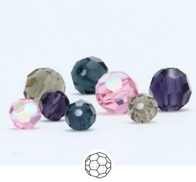 Preciosa Beads Round
