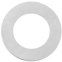 ImpressArt Tag Stempel Rohling Scheibe mit Öse, Aluminum, 32 mm