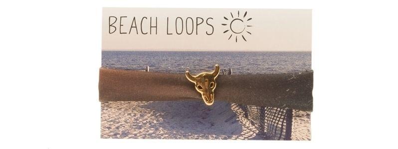 Beach Loop Stier Braun