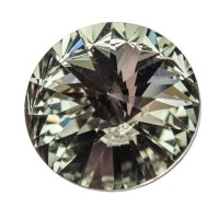 Swarovski Rivoli (1122), 12 mm, black diamond