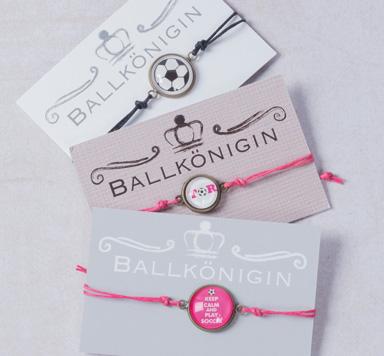 Glücksarmbänder für Fussballfans machen