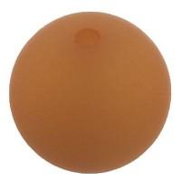 Polarisperle, rund, ca. 8 mm, marille