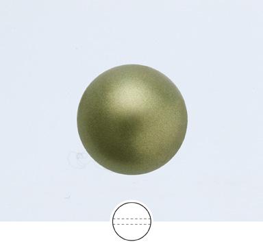 Preciosa 12 mm Nacre Pearl Round