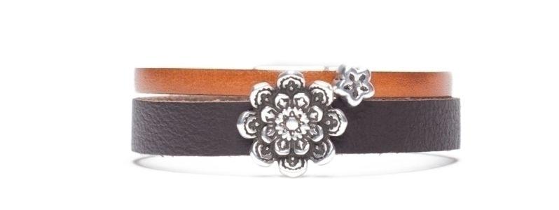 Armband mit Screws Blüten
