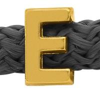 Grip-It Slider Buchstabe Ε, für Bänder bis 5mm Durchmesser, vergoldet
