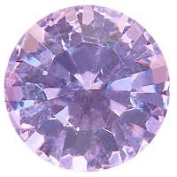 Preciosa Chaton Maxima SS39 (ca. 8 mm), violet DF (Dura Foiling)