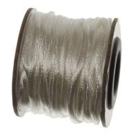Makramee-Band, Durchmesser 2 mm, 10 Meter-Rolle, weiß