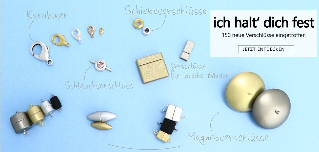 Neue Verschluesse für DIY Schmuck
