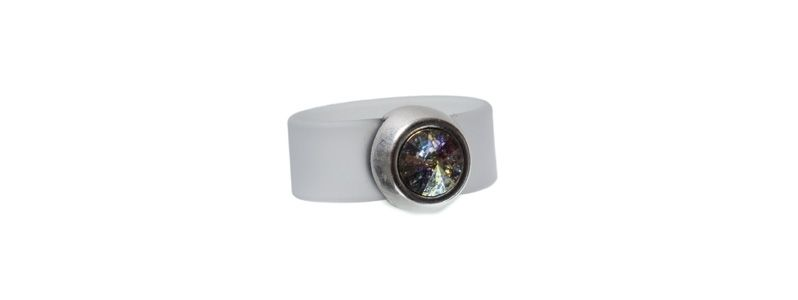 Rivoli Ring White Patina